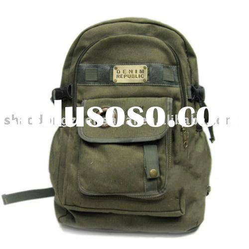 Canvas bag with personalized design