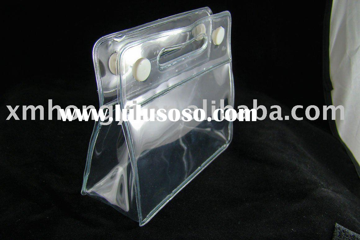 Clear cosmetic bag ,plastic cosmetic pouch .cosmetic bag