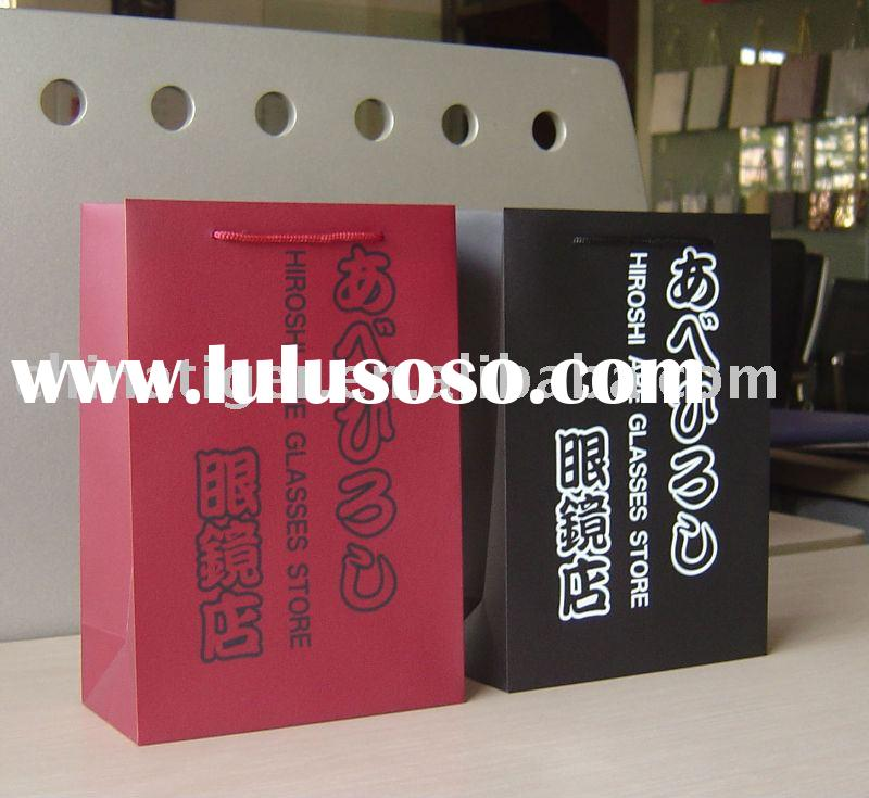 Eco  Plastic Promotional Bag with Customized Design