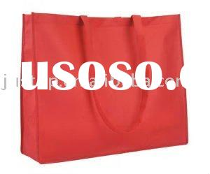 Extra large recycled non-woven polypropylene tote bag.
