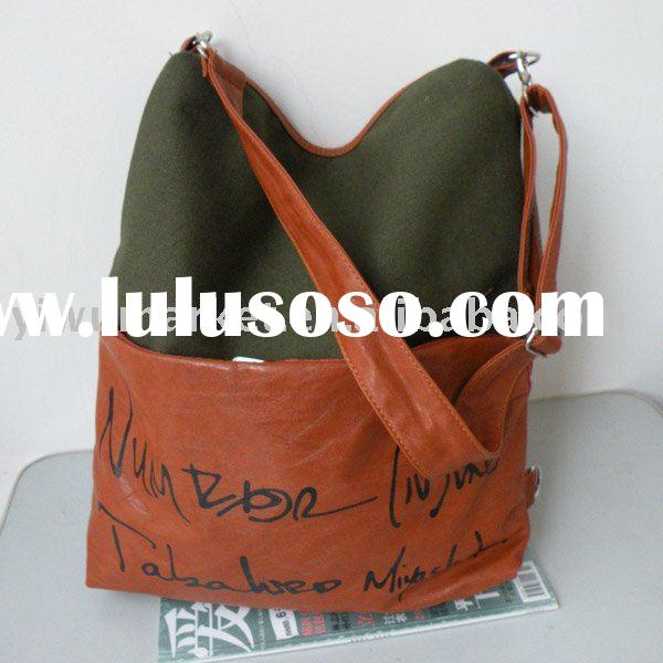 Fashion canvas wholesale handbags