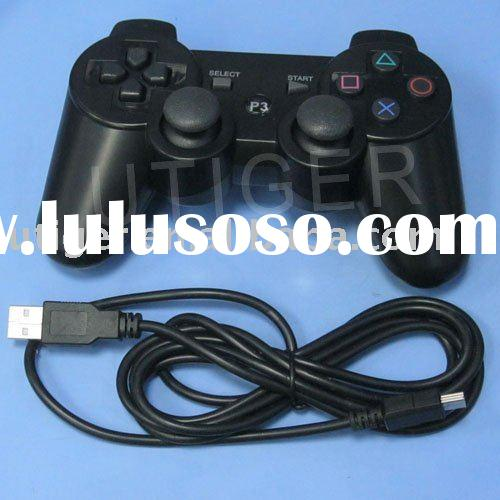 For PS3 Wired Controller,USB game playing wired controller Free shipping,support wholesale
