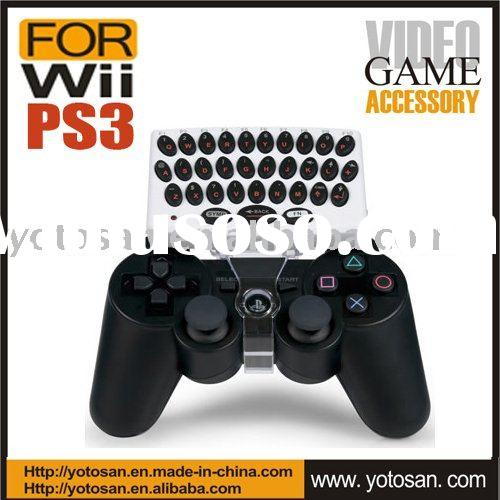 For PS3 Wireless Keyboard Game Accessory