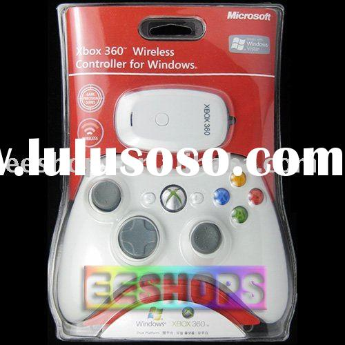 For Xbox 360 Wireless Game Controller W/ Gaming Receiver