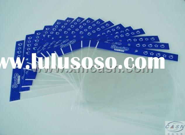 Header Bagzip-lock bagplastic bag