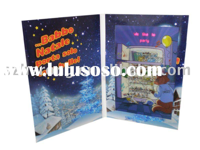 Karaoke LED Greeting Card