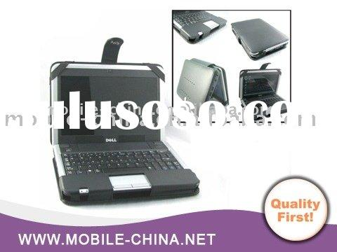 Laptop carrying leather case for Dell Inspiron mini 9