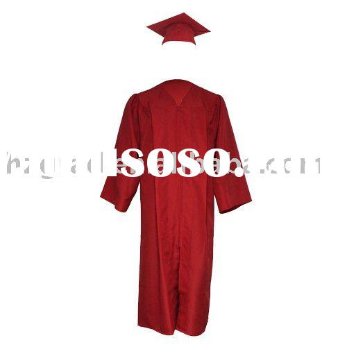 Middle/High School Graduation Cap and Gown