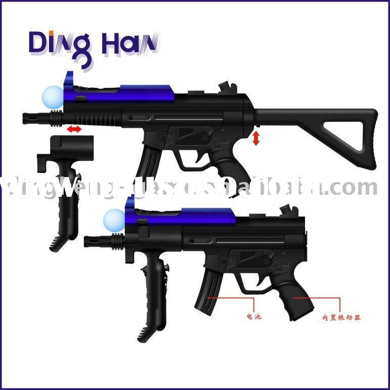 New coming light gun for PS3 Move game accessories for PS3 Move