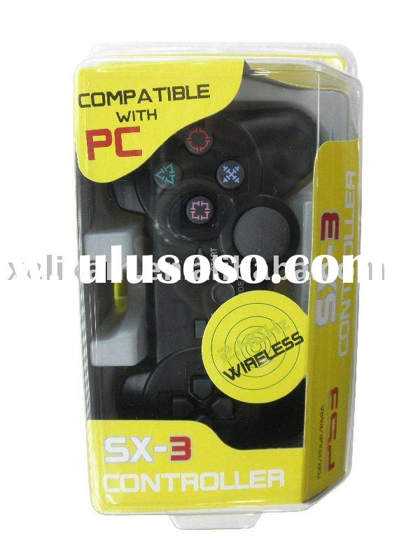 New controller-3 in 1 2.4G game joypad for Playstation 3 PS3 game joypad (compatible for PS2/PC)
