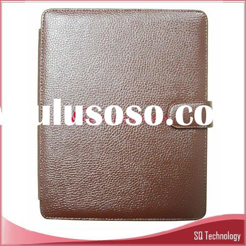 Notebook Laptop Genuine Leather Case for iPad brown colour