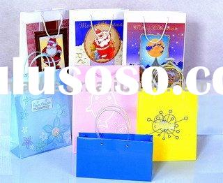 Paper bag, gift paper bag, shopping bag made from creative design