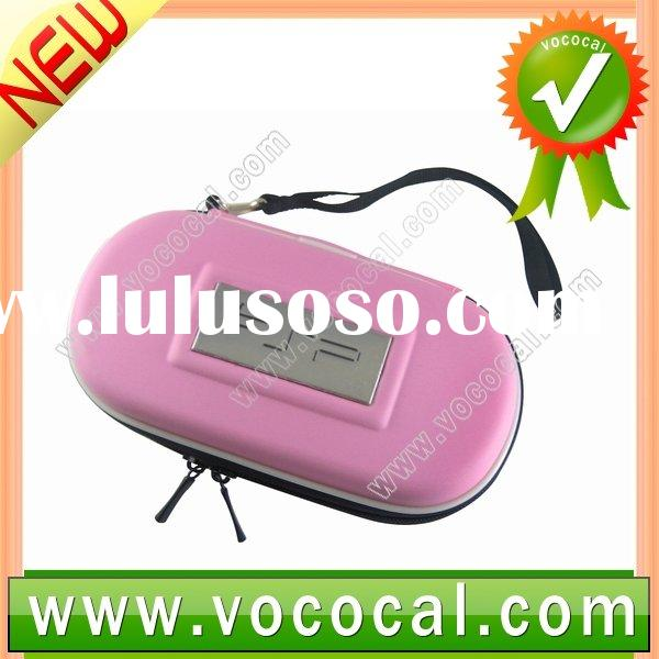 Pink Portable Hard Carry Case Bag Game Pouch For PSP