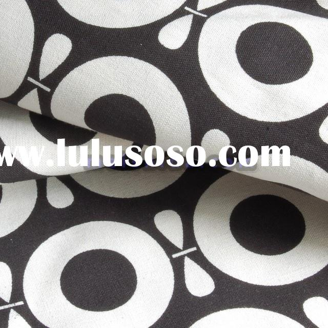 Printed Organic Cotton Canvas for Canvas Bags
