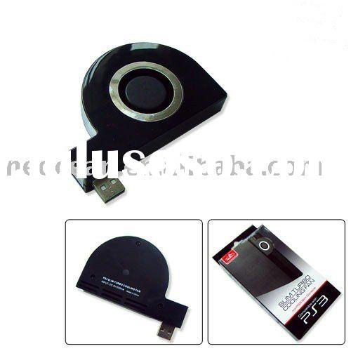Slim Turbo Cooling Fan for PS3 game accessores