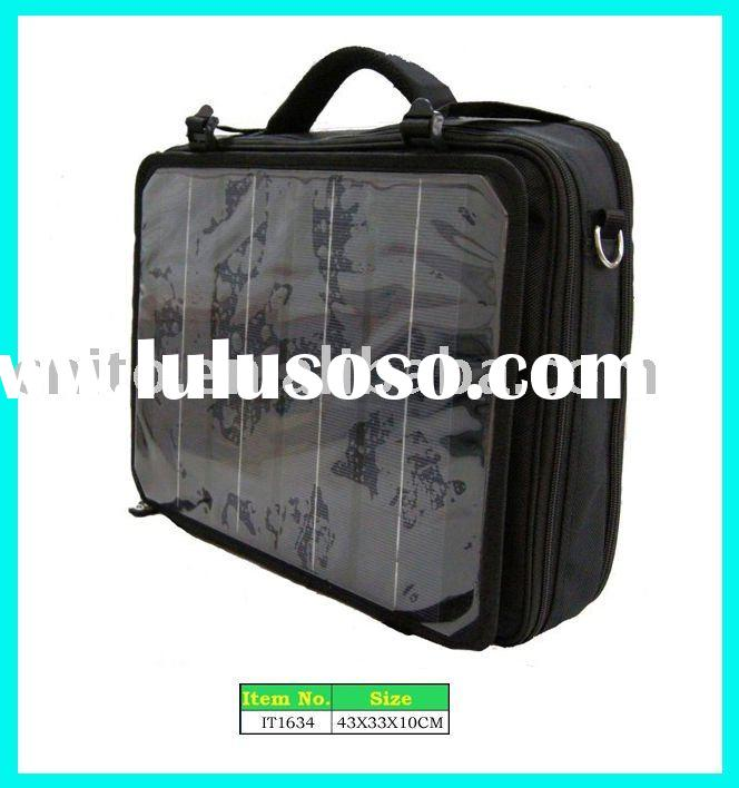 Solar Charging Power Laptop Shoulder Bag