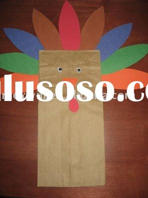Turkey Craft Paper Bag