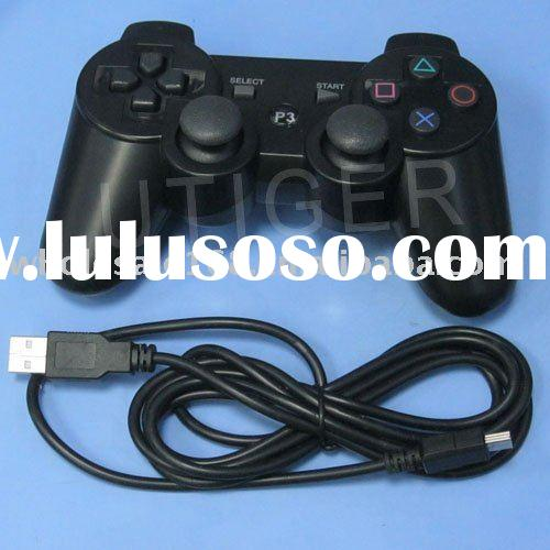 USB Wired game controller, For PS3 game controller for game playing free shipping