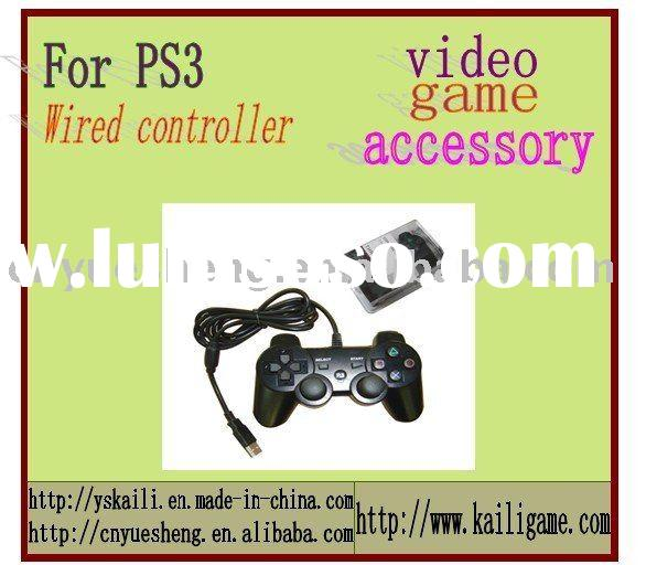 Wired Controller for PS3,game console,game controller,game cable,game cooling fan