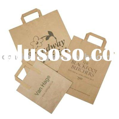 brown paper bag for shopping