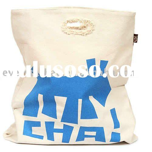 cheap canvas shopping bag