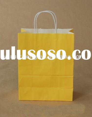 colorful gift paper bag template