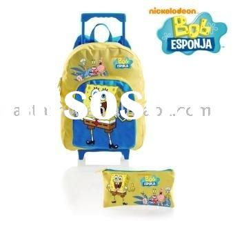convenient and cute school bag with wheels