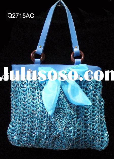 crochet bag / handbag /fashion bag /hand-knitted  bag