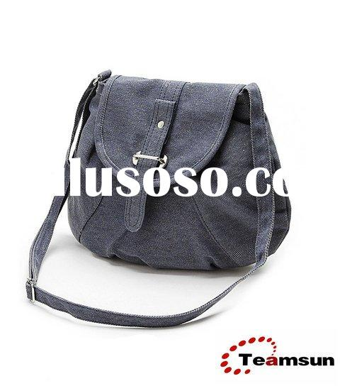 fashion grey canvas small shoulder bags   messenger bags