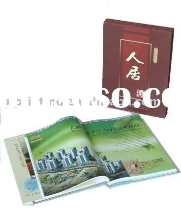 hard cover book / case bound book printing