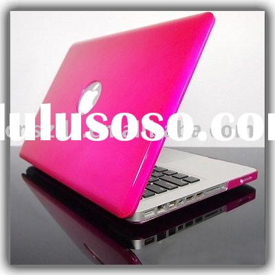 hot pink  METALLIC Hard Case Cover for NEW Macbook PRO 13