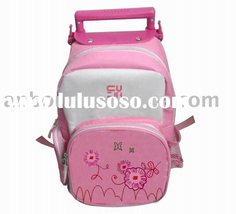 lovely school trolley bags for girls best pink wheeled school bag