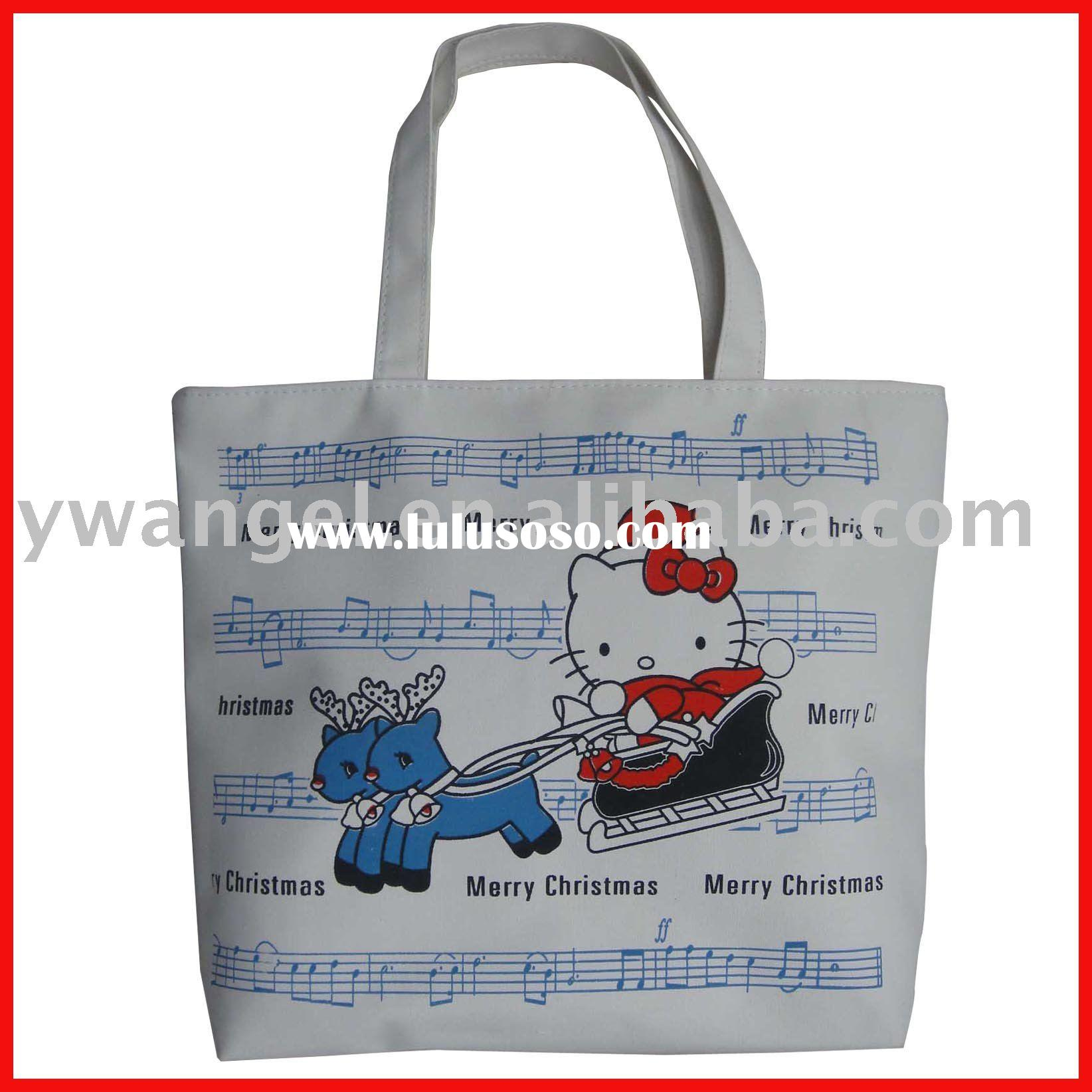 new design blank canvas totes bag