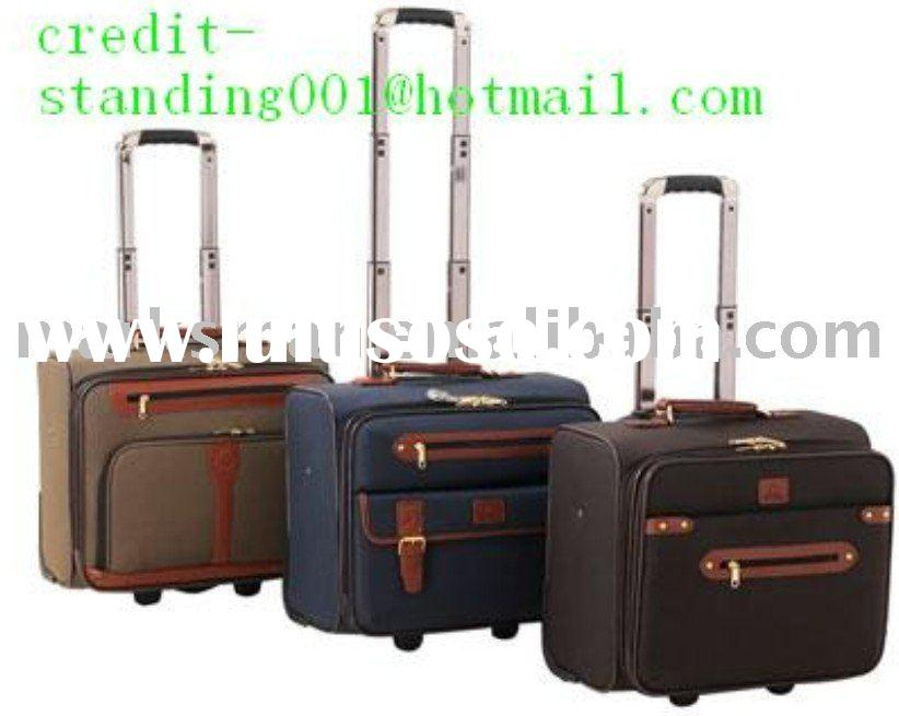 polyester 1680D  rolling laptop bag luggage case