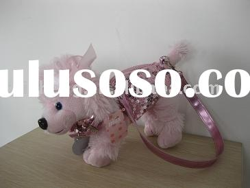 poodle bag plush