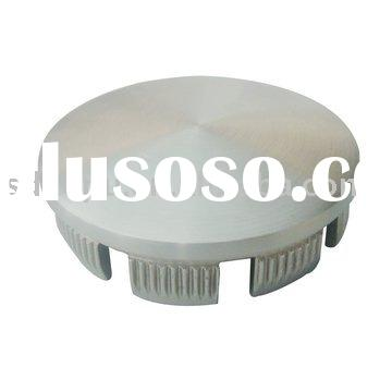 stainless steel handrail cap with teeth