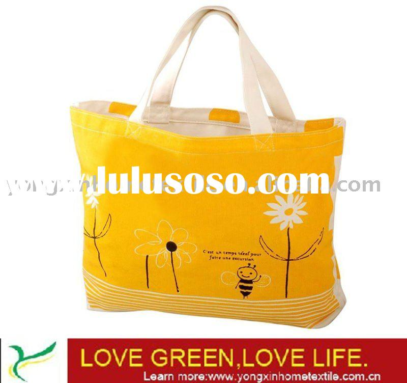 wholesale high quality canvas shopping bag (YXCAS-1002)