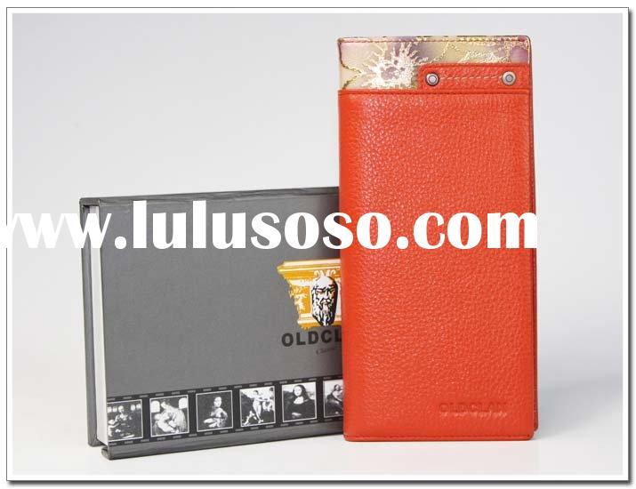 women leather billfold