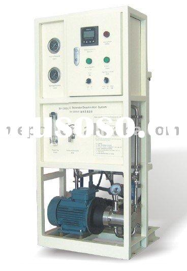 150L/H Reverse Osmosis Seawater Desalination System