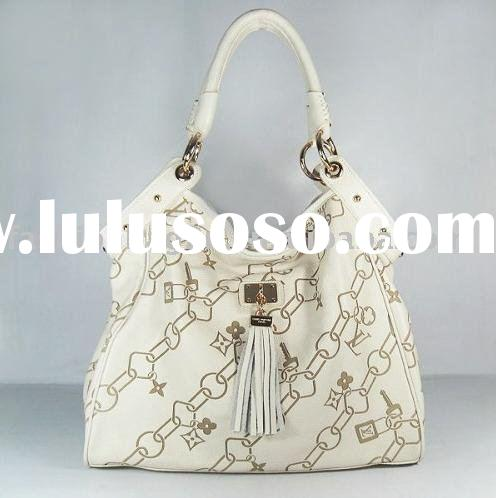 2011 white brand name leather bag  dropshipping+Paypal