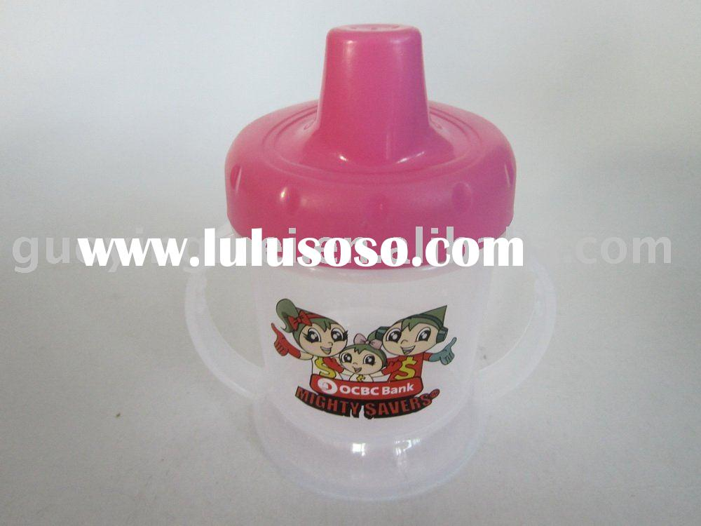 240ML Plastic Water Bottle with couple handles