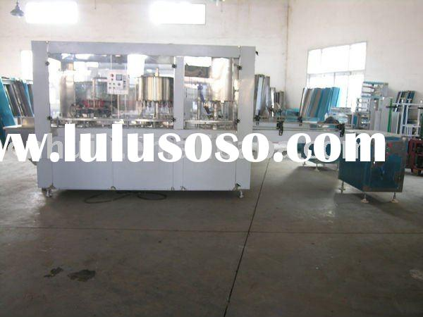 3 in 1 Automatic bottle washing ,filling and capping machine