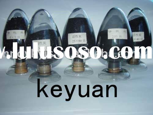 Coconut activated carbon for beverage decoloring