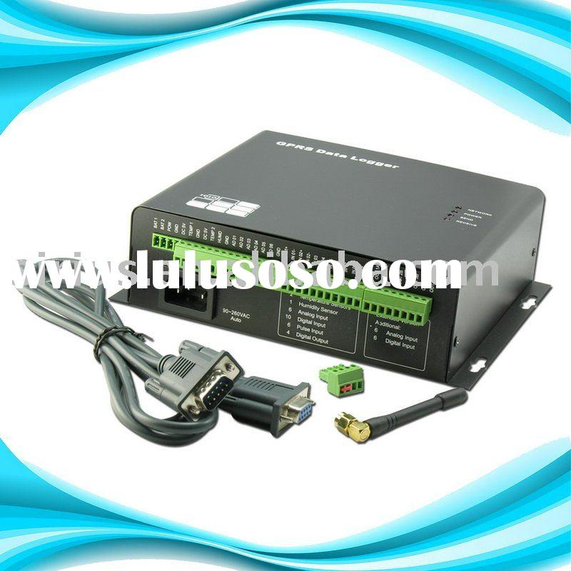 Data Entry with GSM GPRS SMS Alarm