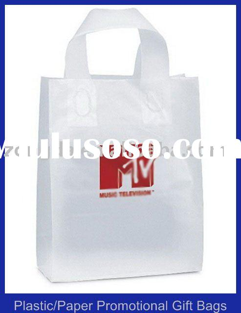Die Cut Plastic Handle Bag