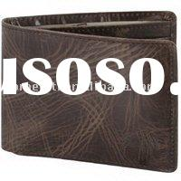 Fossil Brown Leather Traveler  Wallet