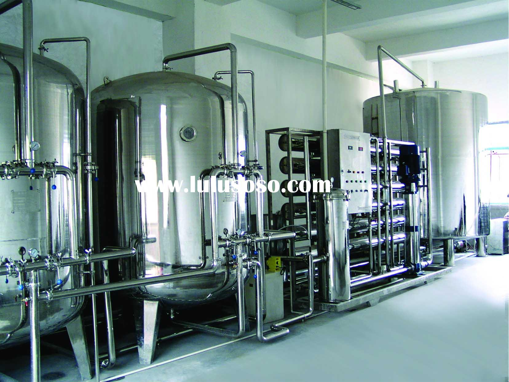 Mineral water & Pure water production line
