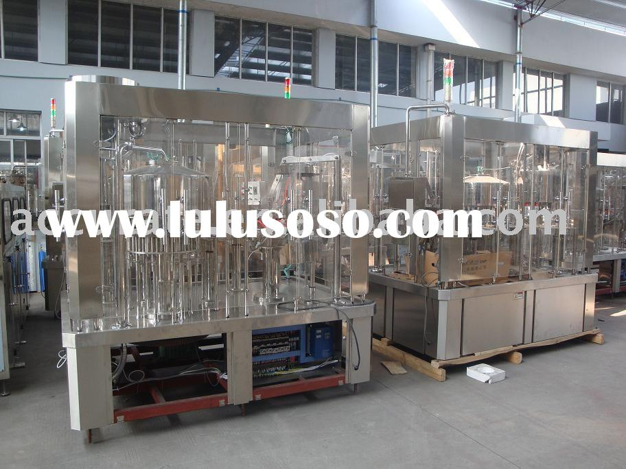 Mineral water washing filling capping machine