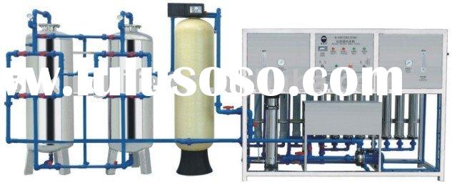 One-stage RO Water Treatment System with 2000L per Hour Capacity