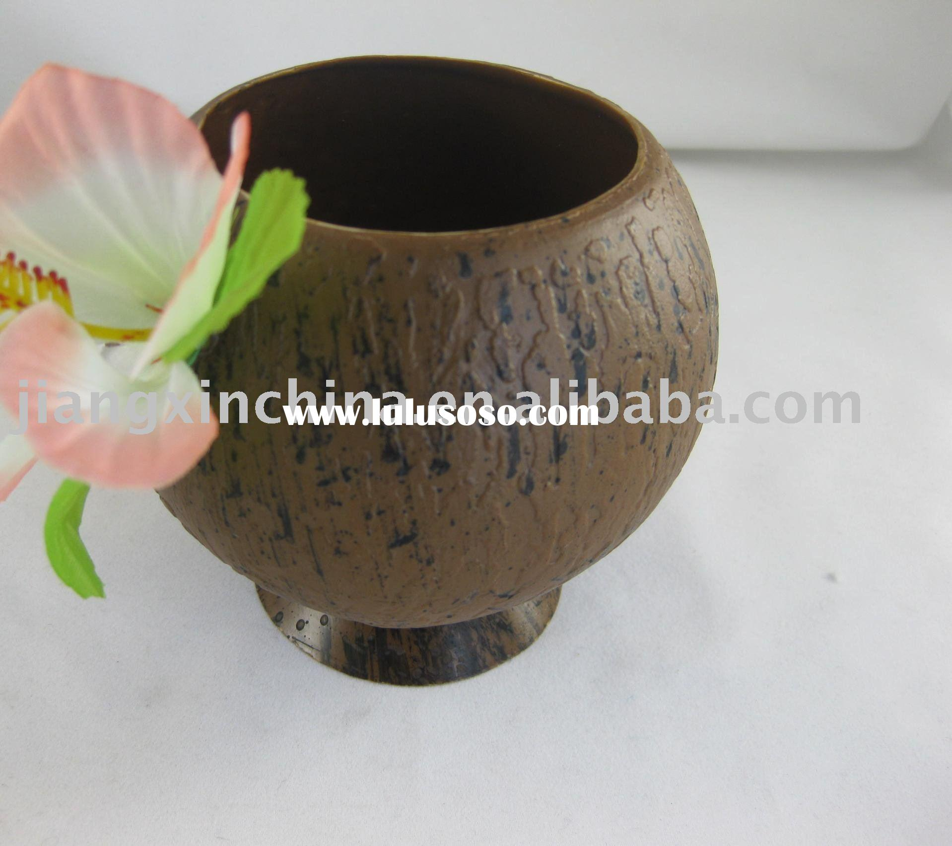 Plastic PS coconut cup for water drinking